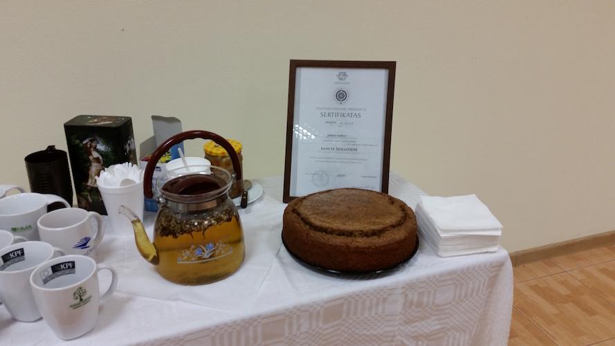 Grikinių gaminių ( babkos/ blynų) , gilių kavos degustacija