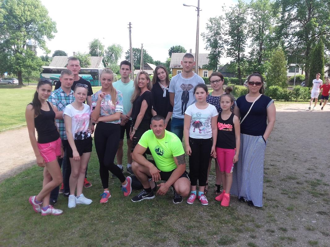 Tiltų seniūnaitijos fizinio aktyvumo ir sveikos gyvensenos skatinimas