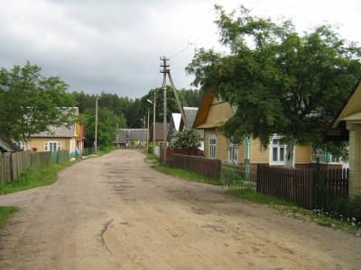 Etnografinis gatvinis rėžinis Rūdiškių seniūnijos kaimas