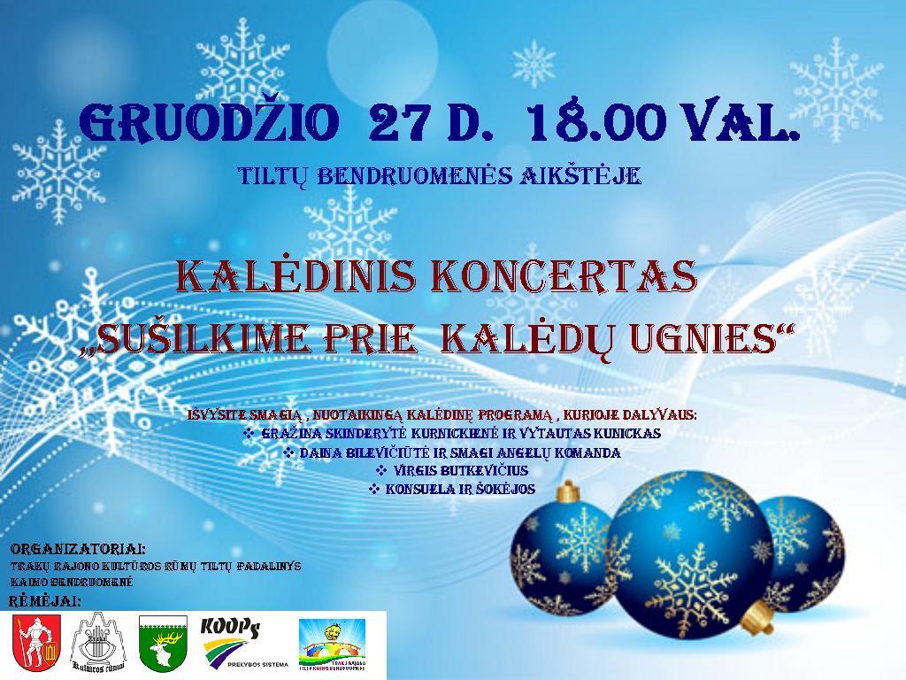 Kalėdinis koncertas Tiltuose